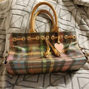Dooney & Bourke small plaid tote
